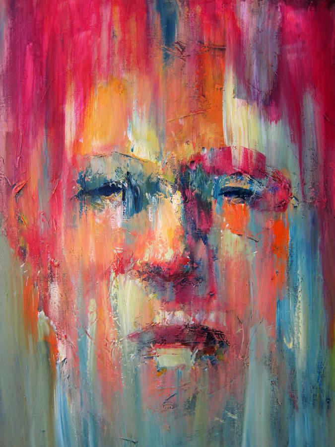 Portret demo I / 60x80cm / € 900