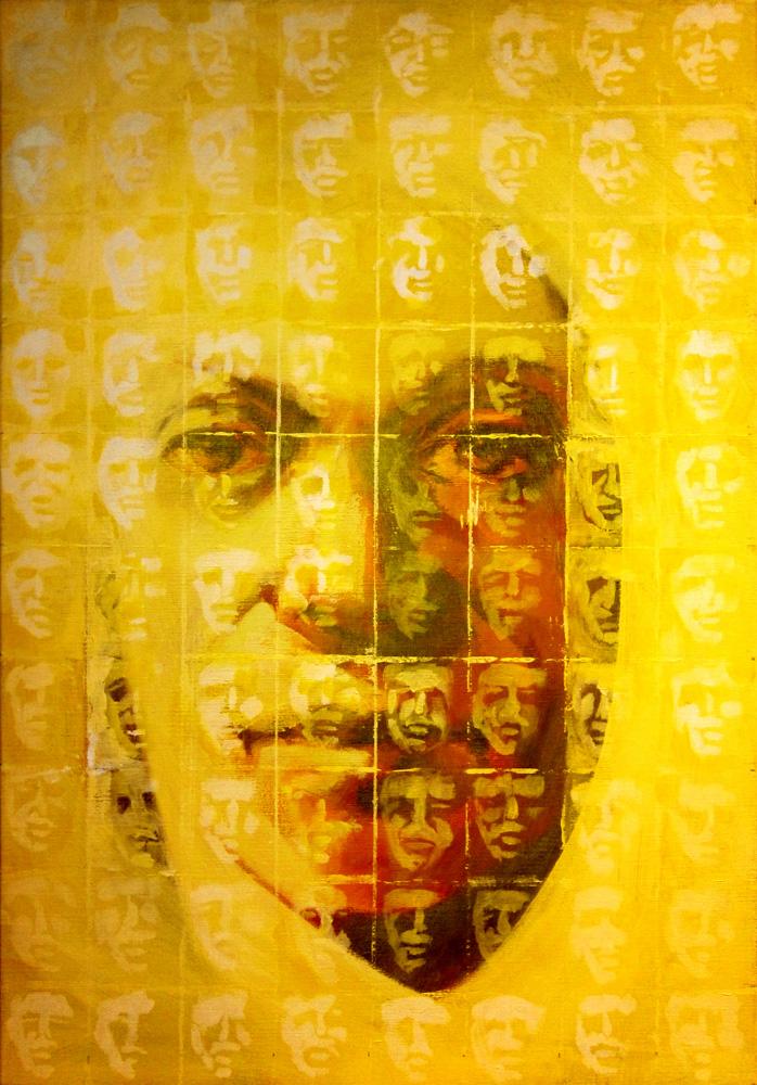 Yellow multiplicity / 80x100cm / € 2800